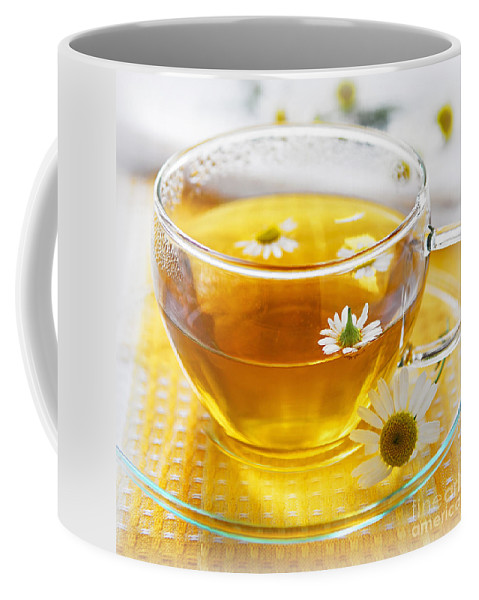 Chamomile Coffee Mug featuring the photograph Chamomile Tea by Elena Elisseeva