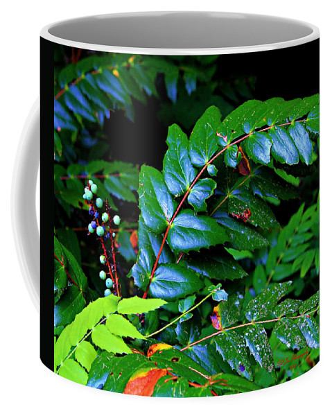 Oregon Coffee Mug featuring the photograph Campground Foliage by Jeanette C Landstrom