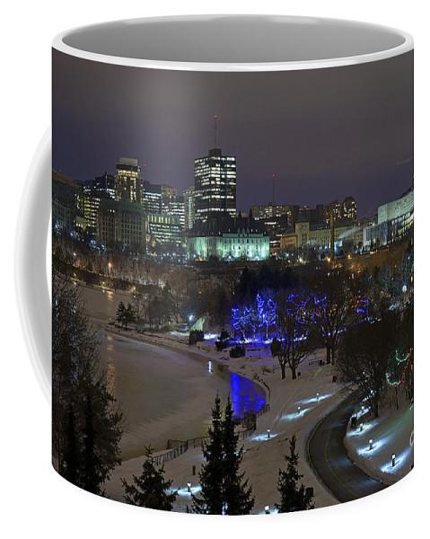 Ottawa Coffee Mug featuring the photograph Canada's Capital by Joshua McCullough