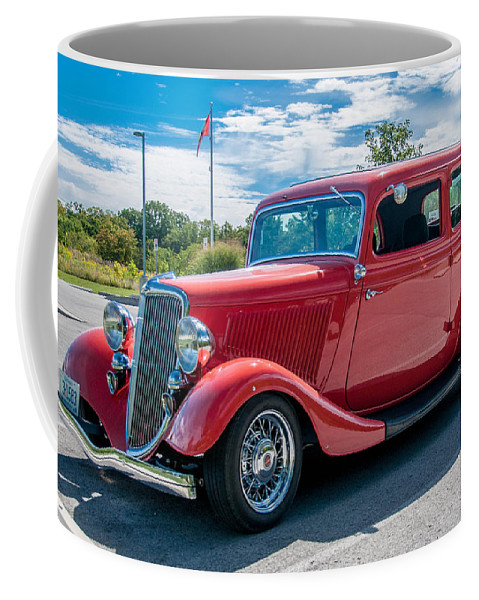 Antique Ford Coffee Mug featuring the photograph Canadian Beauty 3d21748 by Guy Whiteley