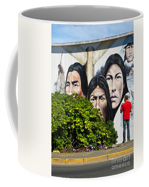 Canada Coffee Mug featuring the photograph Canadian Retrospective by Ann Horn