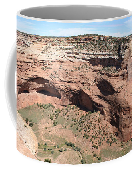 Canyon Coffee Mug featuring the photograph Canyon De Chelly I by Christiane Schulze Art And Photography