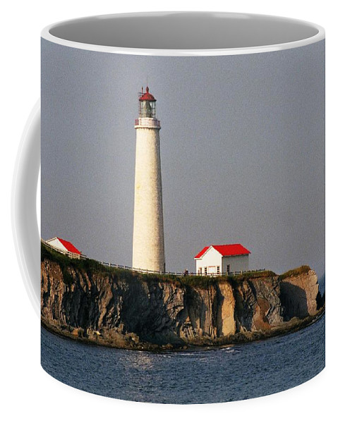 North America Coffee Mug featuring the photograph Cap Des Rosiers - Quebec by Juergen Weiss