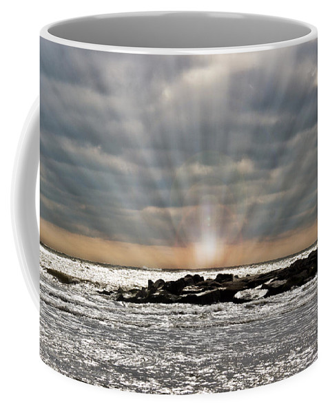 Townsends Coffee Mug featuring the photograph Cape May After The Storm by Tom Gari Gallery-Three-Photography
