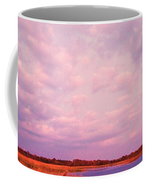 Cape May Coffee Mug featuring the painting Cape May Point by Eric Schiabor