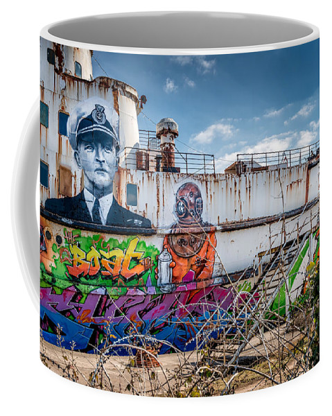 British Coffee Mug featuring the photograph Captain Jack by Adrian Evans