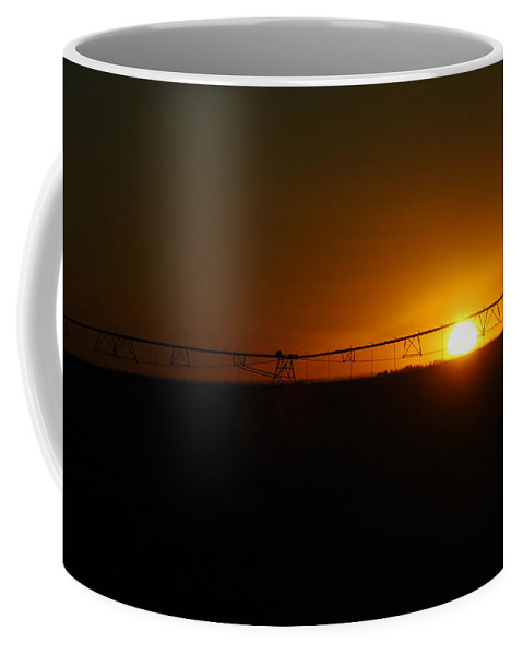 Sunset Coffee Mug featuring the photograph Capture The Sun by Donna Blackhall