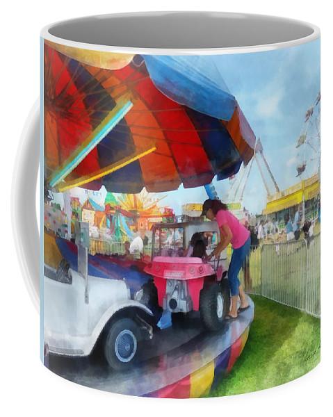 Car Ride Coffee Mug featuring the photograph Car Ride At The Fair by Susan Savad