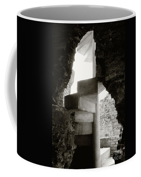 Stairway Coffee Mug featuring the photograph Caracol by Gabriel G Medina