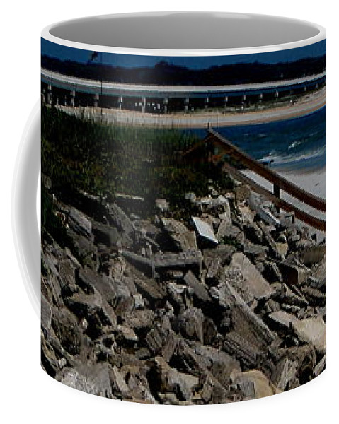 Beach Front Coffee Mug featuring the photograph Caribbean Colors by Greg Patzer