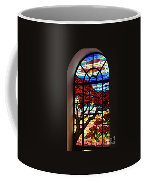 Stained Glass Coffee Mug featuring the photograph Caribbean Stained Glass by The Art of Alice Terrill
