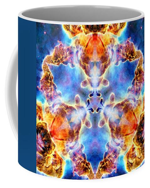 Carina Nebula Vi Coffee Mug featuring the photograph Carina Nebula Vi by Derek Gedney