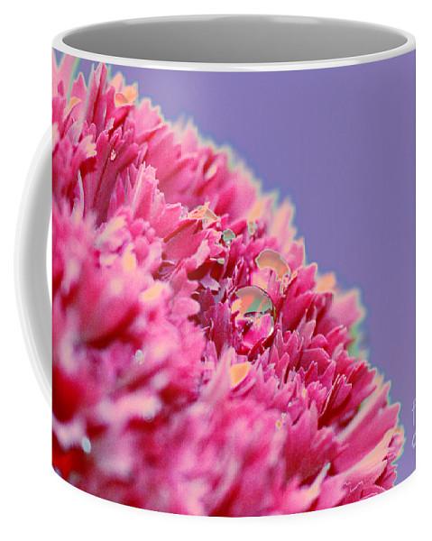 Carnation Coffee Mug featuring the digital art Carnation by Carol Lynch