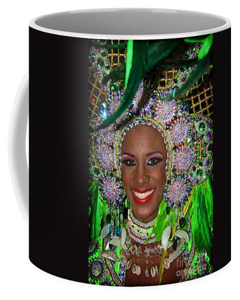 Panama Coffee Mug featuring the photograph Carnaval Beauty by Bob Hislop