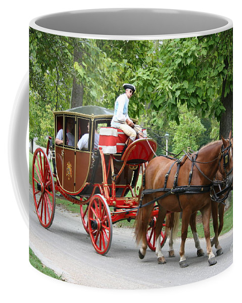 Carriage Coffee Mug featuring the photograph Carriage by Christiane Schulze Art And Photography