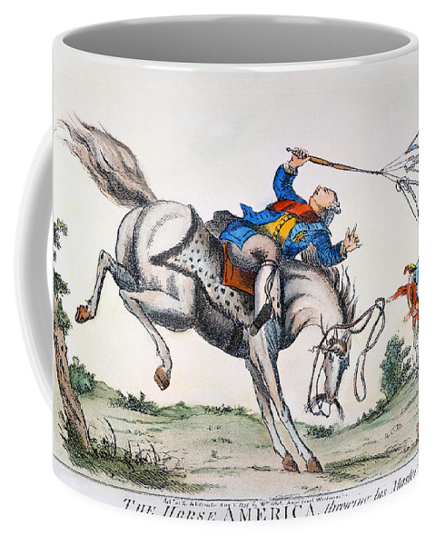 1779 Coffee Mug featuring the photograph Cartoon: Outcome, 1779 by Granger