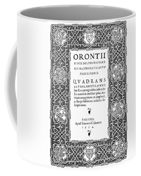 1534 Coffee Mug featuring the painting Cartouches, 1534 by Granger