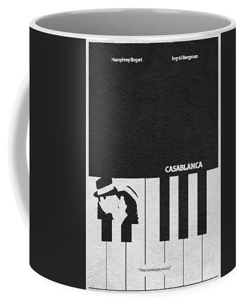 Casablanca Coffee Mug featuring the digital art Casablanca by Inspirowl Design