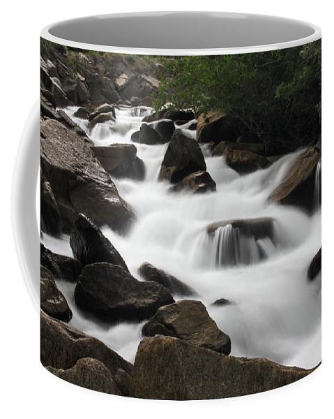 Cascade Coffee Mug featuring the photograph Cascade Falls by Chance Chenoweth