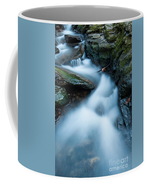 Connecticut Coffee Mug featuring the photograph Cascades - Spruce Brook Twilight by JG Coleman