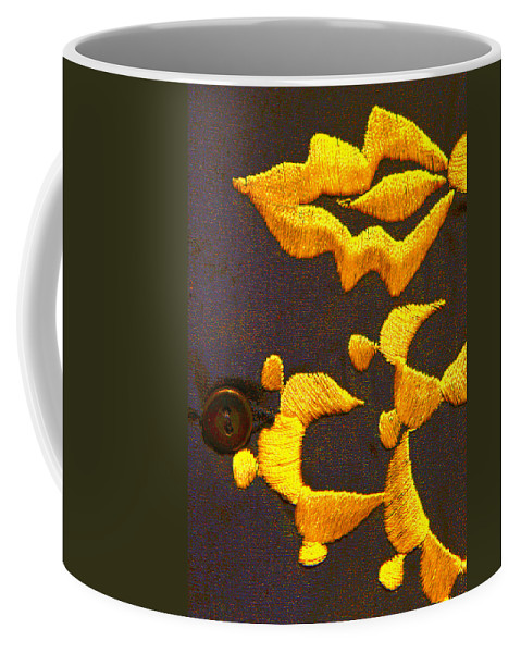 Johnny Cash Coffee Mug featuring the photograph Cash Brass by Jeff Kurtz