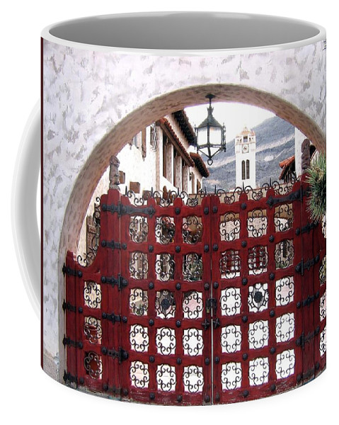 Castle Gate Coffee Mug featuring the photograph Castle Gate by Will Borden