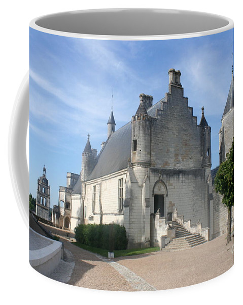 Castle Coffee Mug featuring the photograph Castle Loches - France by Christiane Schulze Art And Photography