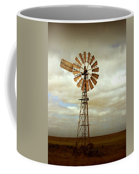 Windmill Coffee Mug featuring the photograph Catch The Wind by Holly Kempe