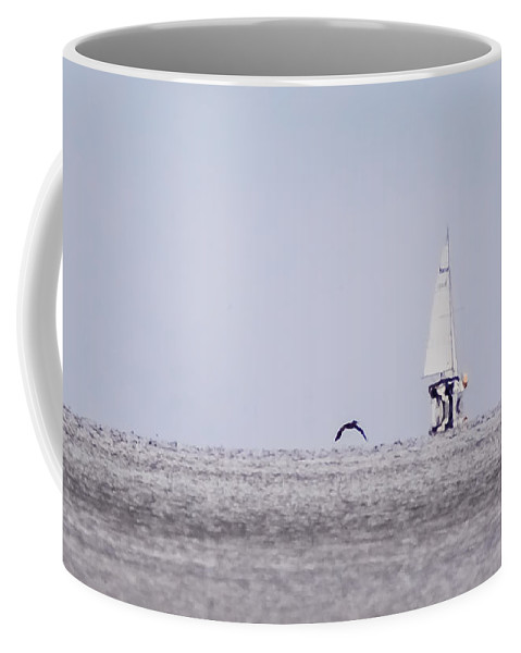 Wind Coffee Mug featuring the photograph Catching Wind by Paula OMalley