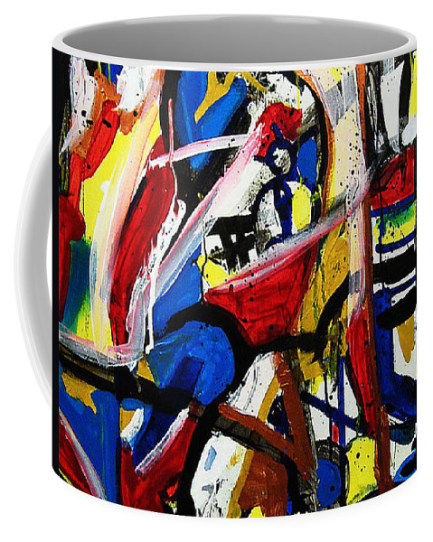 Painting Coffee Mug featuring the painting Catharsis by Jeff Barrett