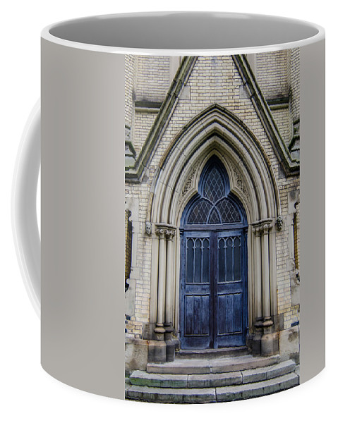 Buildings Coffee Mug featuring the photograph Cathedral Church Of St James 1105 by Guy Whiteley