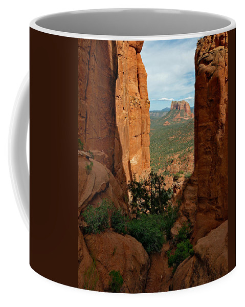 Photo Coffee Mug featuring the photograph Cathedral Rock 05-012 by Scott McAllister
