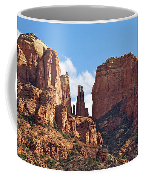 Arizona Coffee Mug featuring the photograph Cathedral Rock by Phill Doherty