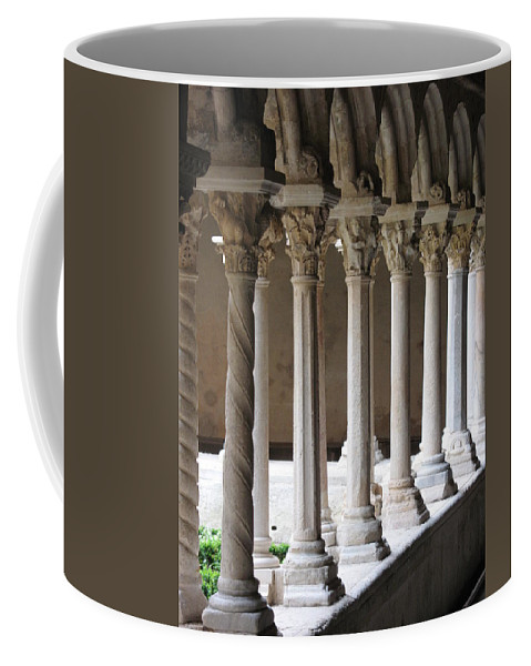 Croos Coffee Mug featuring the photograph Cathedral St Sauveur - Croos-coat by Christiane Schulze Art And Photography