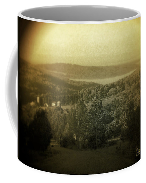 Catskills Coffee Mug featuring the photograph Catskill Mountains New York Barn-shandelee - Featured In Comfortable Art And All About Ny Groups by Ericamaxine Price