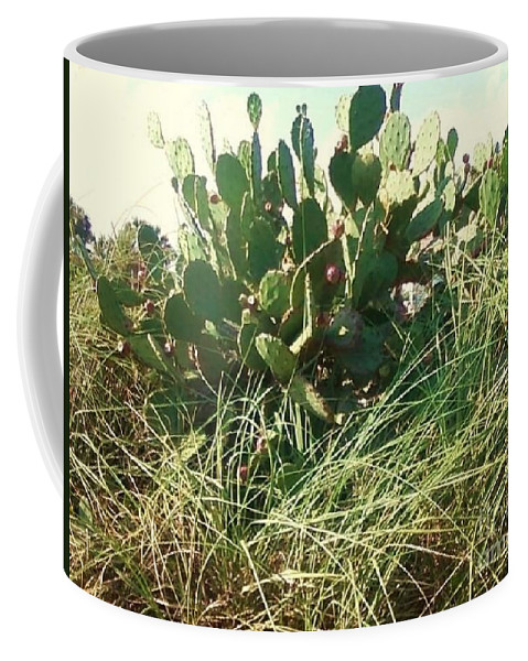 Catus Coffee Mug featuring the photograph Catus 1 by Michelle Powell