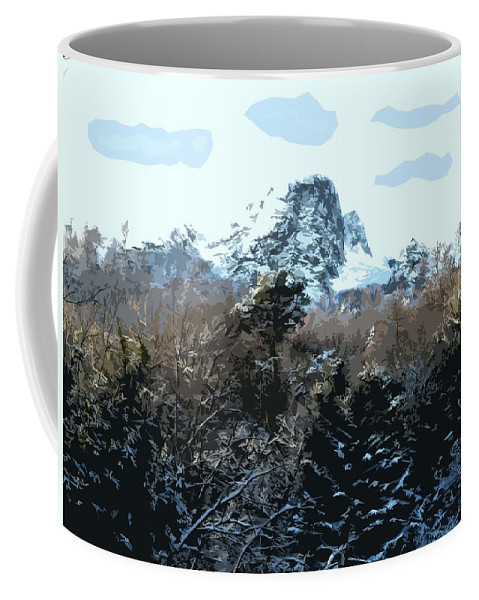 Ireland Coffee Mug featuring the photograph Cavehill In The Snow 2 by Patrick J Murphy