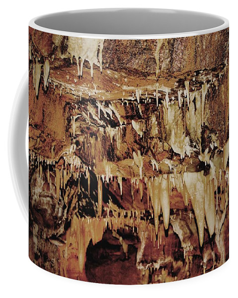 Caverns Coffee Mug featuring the photograph Cavern Beauty by Dan Sproul