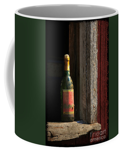 Bottle Coffee Mug featuring the photograph Celebrations Past by Lois Bryan