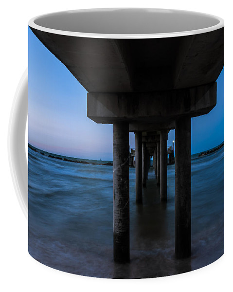 Blue Coffee Mug featuring the photograph Celestial Dream by Andrea Mazzocchetti
