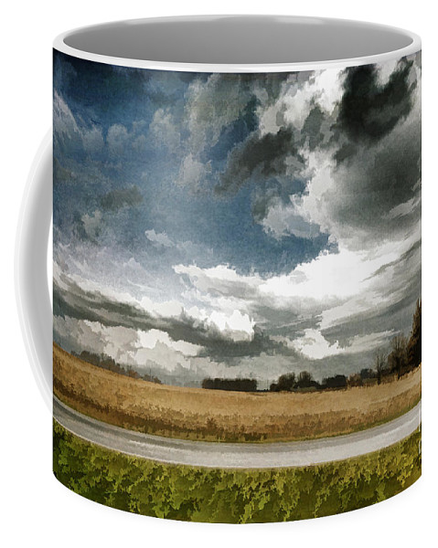 Central Illinois Tornadoes Coffee Mug featuring the photograph Midwest - Central Illinois Tornados - Luther Fine Art by Luther Fine Art