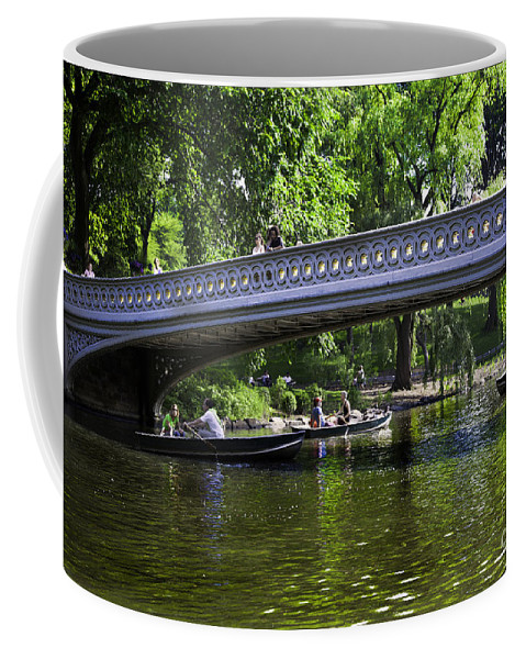 Central Park Coffee Mug featuring the photograph Central Park Day 2 by Madeline Ellis