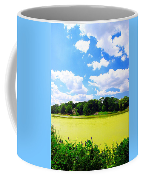 Central Park Coffee Mug featuring the photograph Central Park by Valentino Visentini