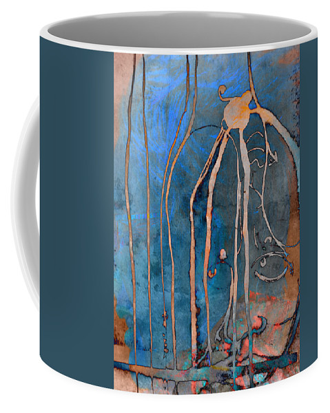 Abstract Art Coffee Mug featuring the photograph Chandeliers And Gutters by The Artist Project
