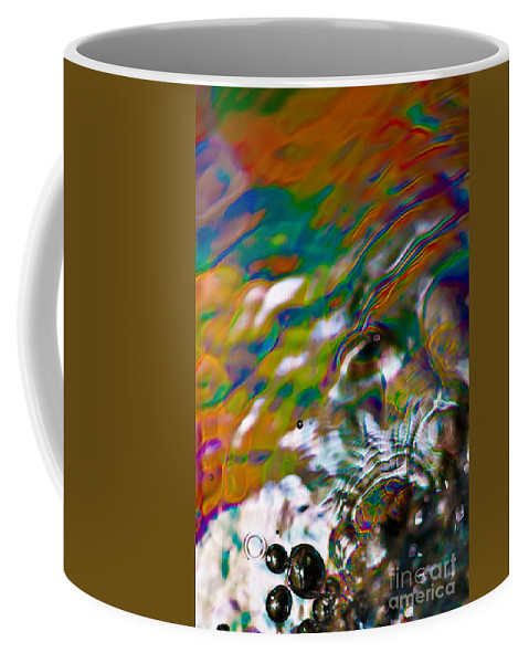 Abstract Coffee Mug featuring the photograph Changes by Anthony Sacco