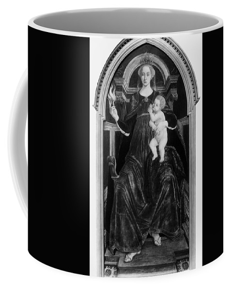 15th Century Coffee Mug featuring the painting Charity, 15th Century by Granger