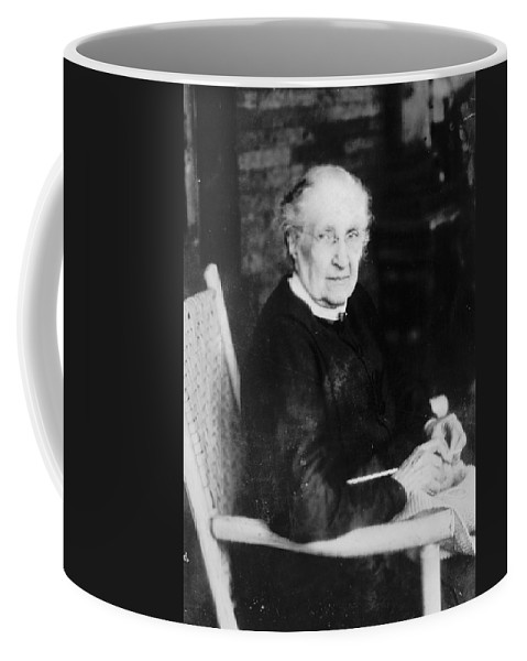 1921 Coffee Mug featuring the photograph Charlotte Woodward Pierce (c1830-1921) by Granger