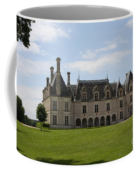 Palace Coffee Mug featuring the photograph Chateau Beauregard Loire Valley by Christiane Schulze Art And Photography