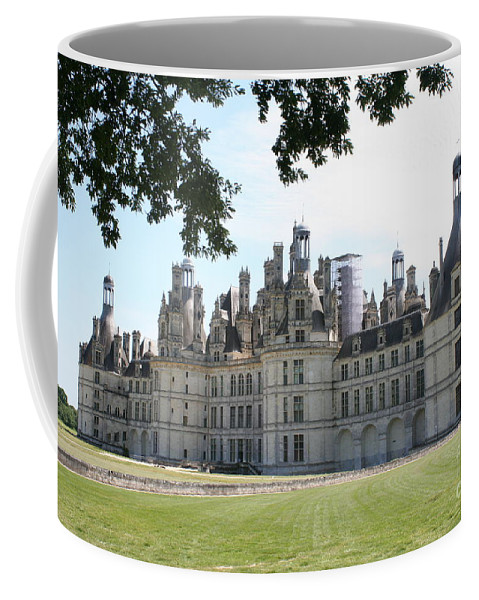 Palace Coffee Mug featuring the photograph Chateau Chambord - France by Christiane Schulze Art And Photography