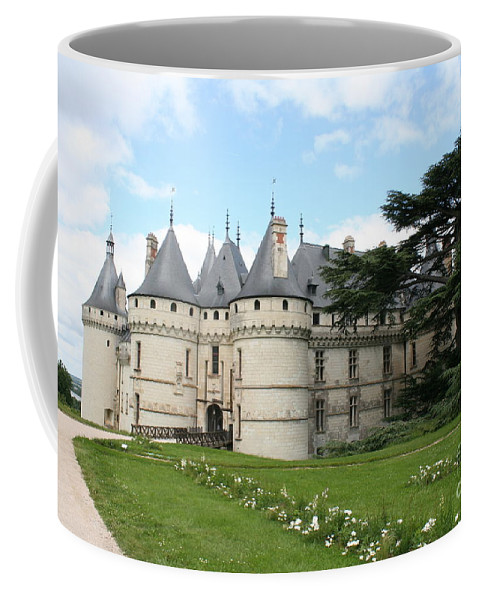 Palace Coffee Mug featuring the photograph Chateau Chaumont From The Garden by Christiane Schulze Art And Photography
